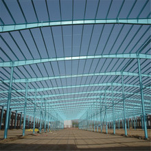 multi-storey steel frame warehouse with high quality