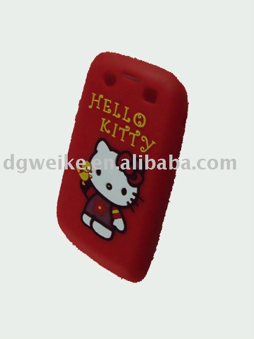 Custom Hello Kitty Silicone Cell Phone Case