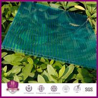 polycarbonate panel for swimming pool or greenhouse