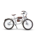 European classic style fatboy electric bike customized big tire e bicycle for beach full suspension STM-Metal Will