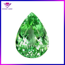 7*9mm pear shaped brilliant cut nano emerald