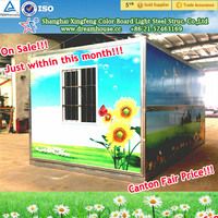 China suppliers Folding container house/modular homes/mobile homes folding