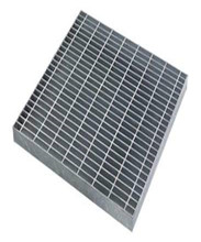 Hot-dipped galvanised I bar metal floor grates