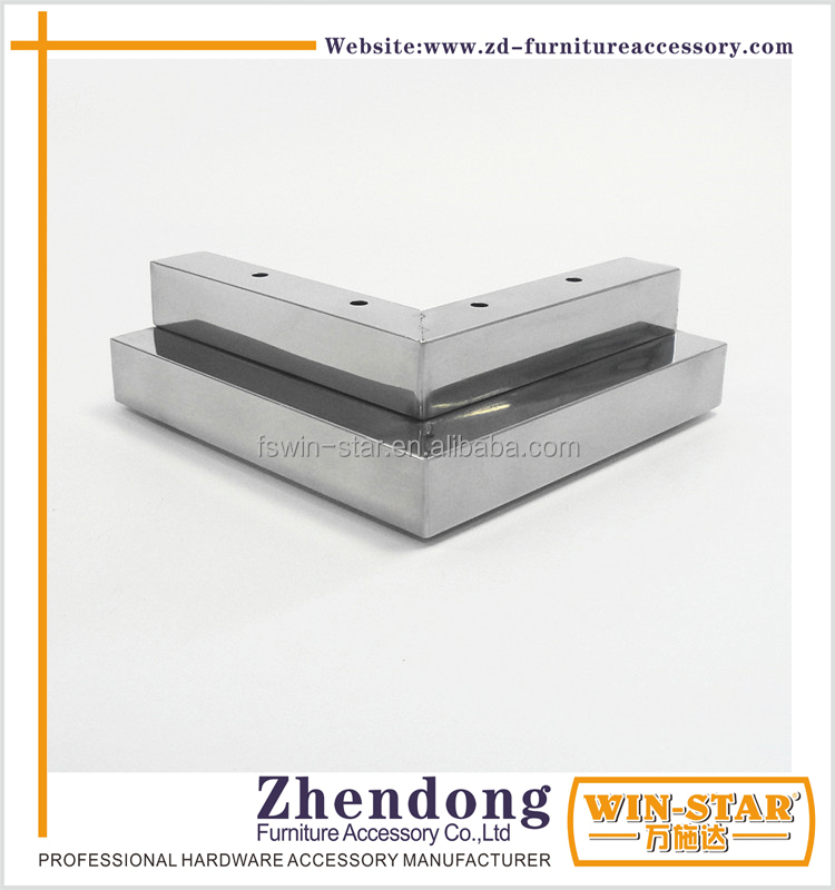 ZD-<strong>N009</strong>-E Double Layers Sofa Legs Stainless Steel Cabinet Kitchen Legs