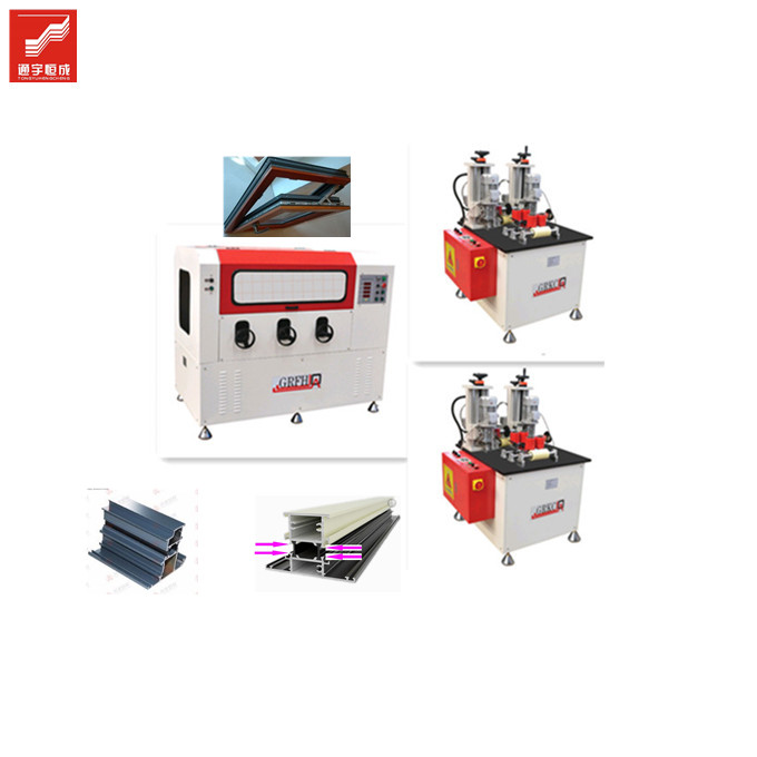 Rolling - Knurling Machine for Aluminum profile <strong>pvc</strong> Casement Window <strong>friction</strong> With Cheap Prices