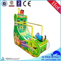 Superwing Hot sale animation cricket bowling machine redemption machine