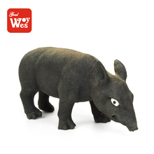 Alibaba hot selling stretchable soft rubber pig toy with wild boar shape