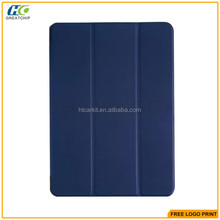 Factory Price Smart PU Cover +PC Back Case for iPad Pro 12.9