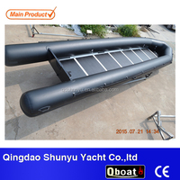 8 meters long boat inflatable salvage pontoon boat