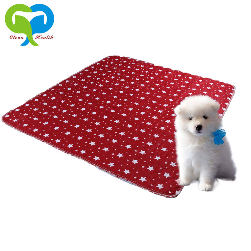 Five-pointed Star Pattern Large Puppy Training Pads /Dog Urine Absorbing Mats/ Waterproof Pet Pad