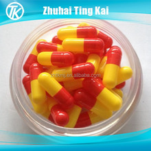 Colorless/clear empty capsules size 00 vegetable hollow capsules