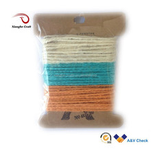 lower colorful nateral hemp rope price for sale