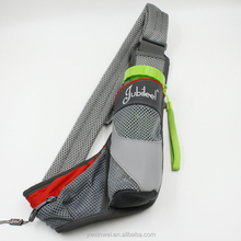 Fashionable sports running waist pack ,waist belt with cup pocket holder for cycing travel ,running or climbing