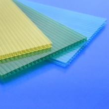 colored hollow polycarbonate sheet hard plastic sheet swimming pool