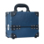 Rigid PVC Aluminum Cosmetic Case, Lightweight and lockable, The Exterior and interior material color are same