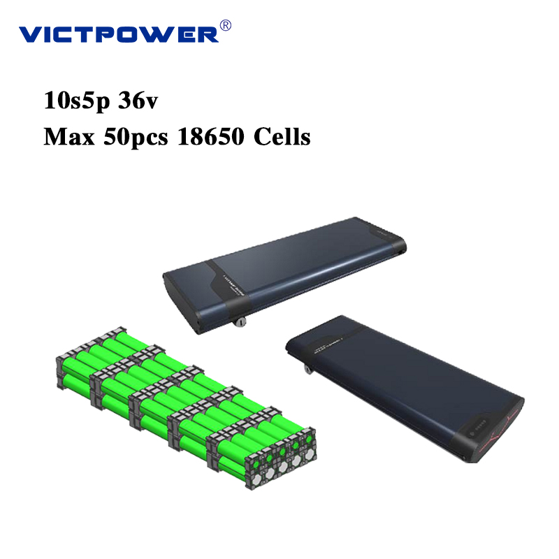 Recharge Victpower Lithium battery 36v 17ah 10s5p 612wh electric bicycle battery pack