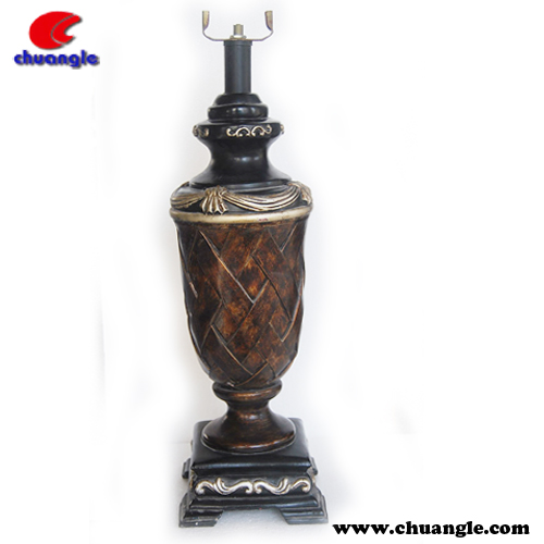 2014 New Version Candlestick , Fancy Resin and Metal Candlestick, Resin Candlestick Crafts
