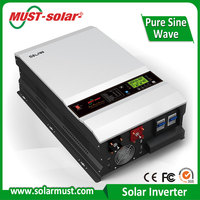 Factory Direct MUST Solar PV3500 10KW Solar PV Inverter with LCD Display for Home Use