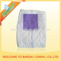Wholesale soft feeling OEM supply best quality hottest adult wearing diapers