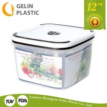 2600ml plastic food storage