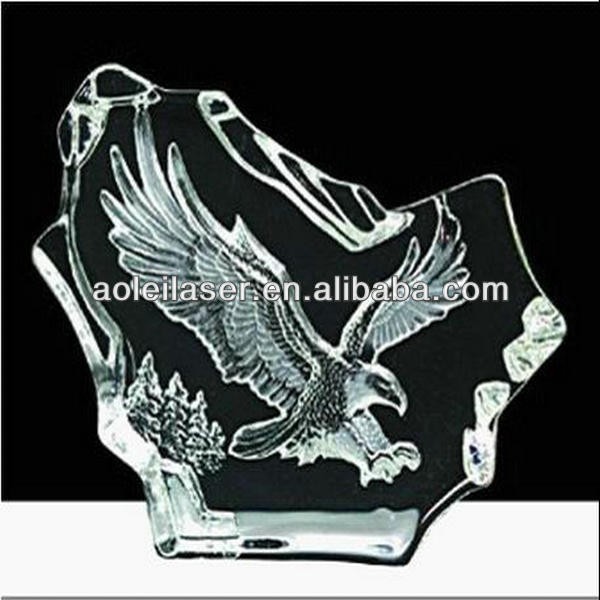 2014 hot! fashionable 2d 3d crystal laser engraving machine