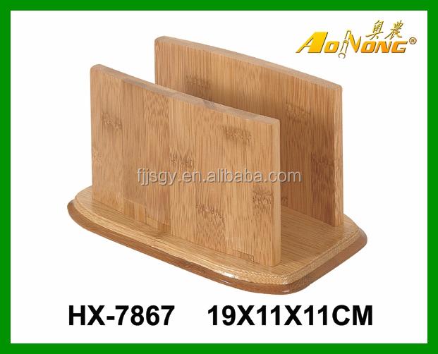 Cheap Bamboo Tissue Box Restaurant Napkin Holder