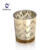 Electroplate glass jar for candle