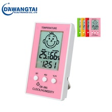 Baby Temperature Juice Moisture Meter CX-201 &Tester Hygrometer Humidity Meter Thermohygrograph Hygrothermograph
