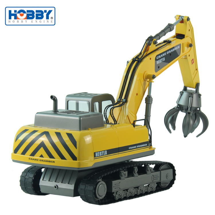 Bestseller RC Construction Truck 1:12 Scale Simulation Radio Control Crane Grabber Clean Truck With Individual Gear Box