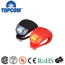 Bicycle Cycling Head Front Rear Wheel Light Silicone LED Light