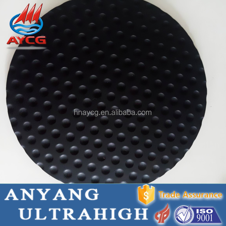 AYCG high quality wear resistance plastic drain sheet