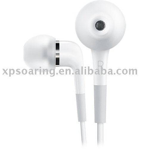 in-ear earphone best quality for iphone 3GS with mic and remote