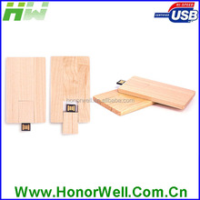 Engraving Simple Clean Natural Wooden Thumb Drive 64MB 64Gb for Matching Corporation Budget