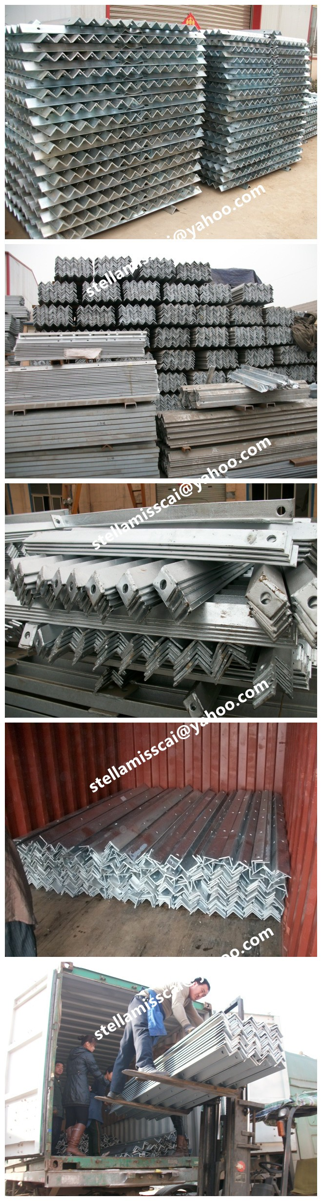 line cross arm electrical cross arm for Chile power tender /galvanize steel pole cross arm bracket/overhard line hardware