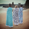 1500mm Round Beach Towel With Tassels