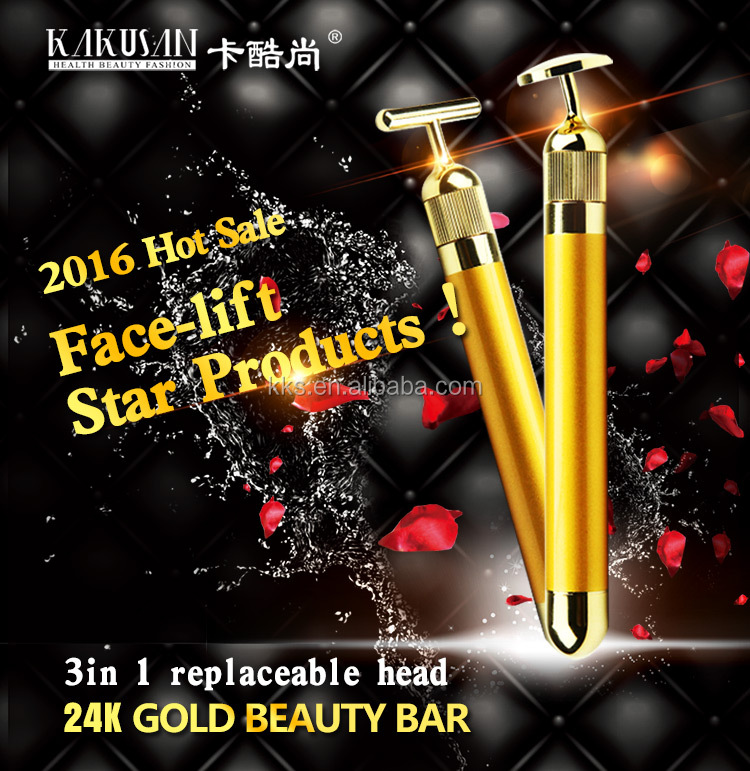 Top Quality Beauty & Personal Care Face Lift 24k Gold Beauty Bar