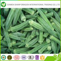 BRC Certification and IQF Freezing Process Baby Okra