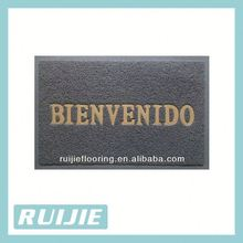 Non toxic can be printed with logo customized entrance door mat printed