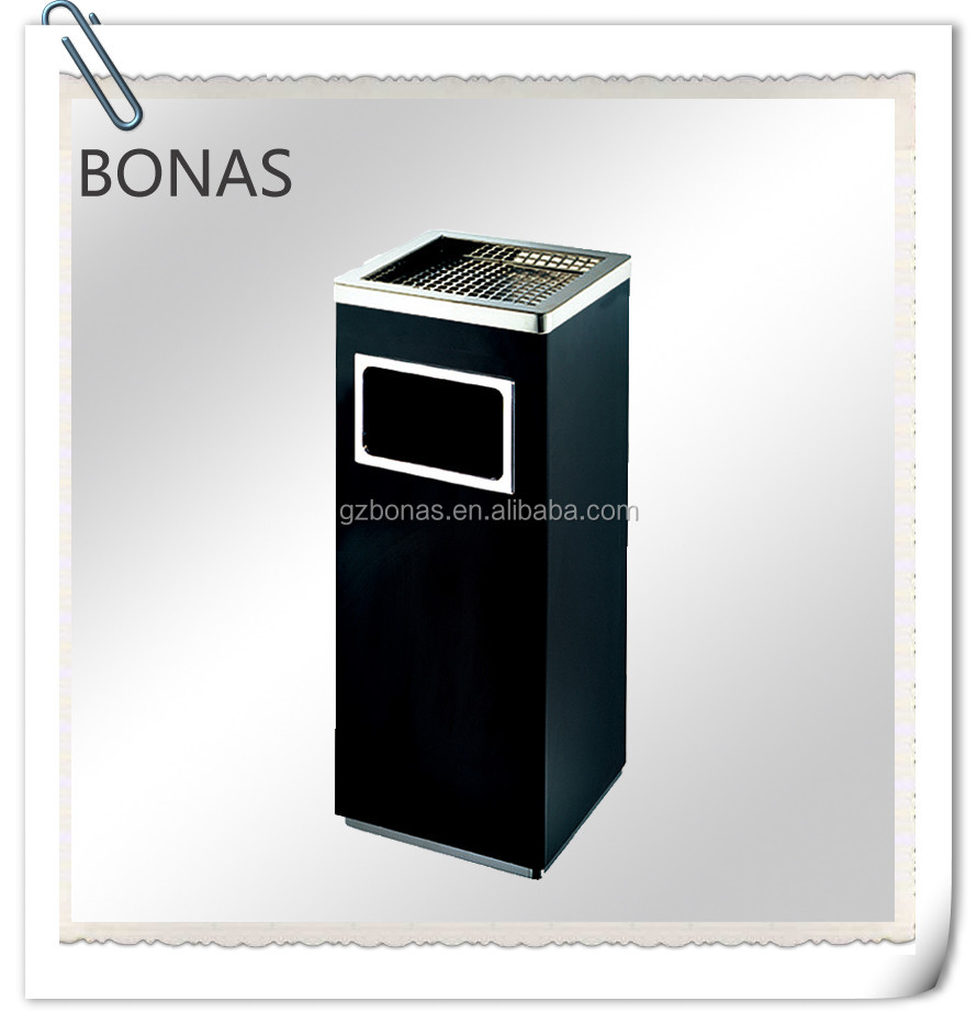 Fire resistant stain steel trash bins, outdoor fireproof dustbin, fire resistant dustbin