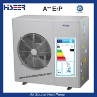 heat pump combination solar heat system