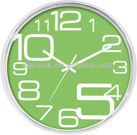 Cheap Gift Clocks Round Plastic Wall Clock Special Number Design