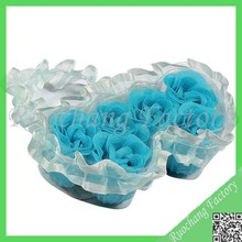Rose designs bath soap Perfect carving soap flower