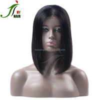 "2016 hot sell 12"" bob wig high quality short front lace bob wig in stock"