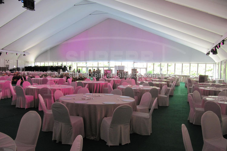 Customized Big aluminium wedding party event tent house for sale