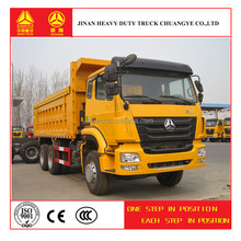 china suppliers sinotruk 336hp dump diesel truck
