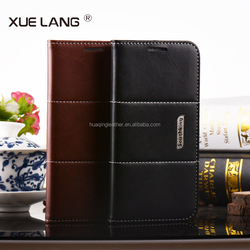 Comfortable Feel Flip Leather Case for samsung galaxy note 2