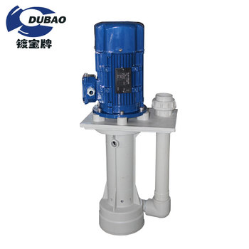 Vertical Chemical Dosing Pump for Electroplating Processing