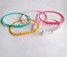 Silicone rubber bracelet maker,silicone o ring bracelet,silicone bracelet pedometer