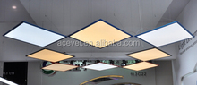 dimmable office flat led panel 40w color temperature adjustable led panel light 60x60cm