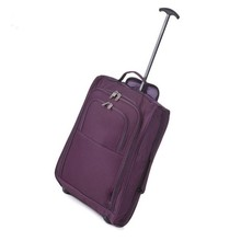 21 Inch carry on wheeled travel laptop bag trolley